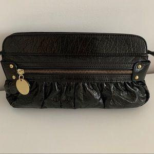 Aldo patent leather clutch
